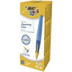 Długopis BIC Kids Beginners Twist Boy niebieski pudełko 12 sztuk