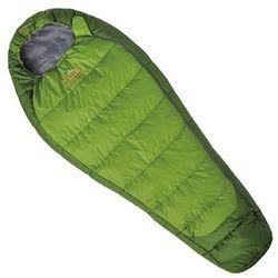 Śpiwór syntetyczny MISTRAL JUNIOR green