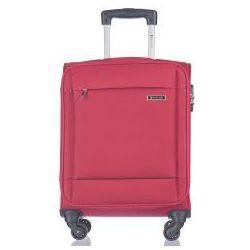 PUCCINI walizka mała/ kabinowa EM50720 z kolekcji PARMA 4 koła materiał poliester zamek szyfrowy