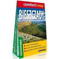 Przewodniki turystyczne, Comfort! map Bieszczady 1:200 000 minimapa