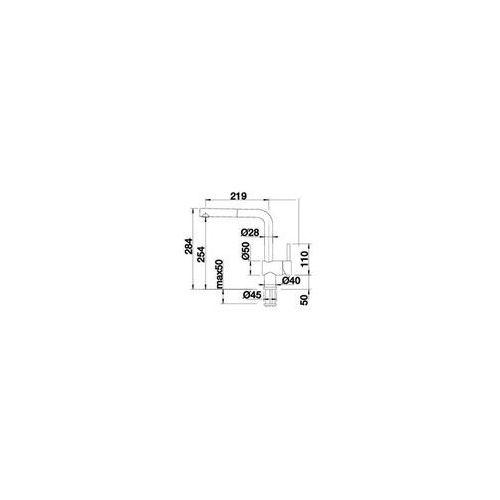 Baterie do kuchni, Bateria Blanco Linus 525807