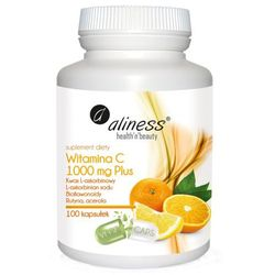Aliness Witamina C 1000mg Plus - 100 kaps. [VEGE]