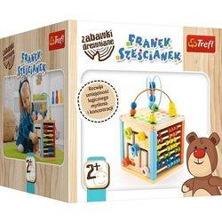 Franek Sześcianek Zabawka drewniana 2+ Trefl 60644