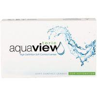 Soczewki kontaktowe, AquaView Toric 6 szt.