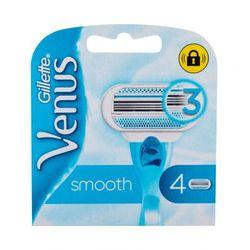 Gillette Venus Smooth wkład do maszynki 4 szt dla kobiet