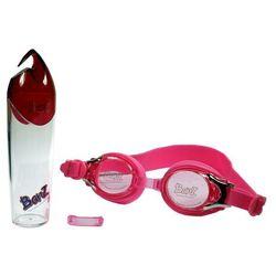 Okulary do pływania basen dzieci Anti-Fog 3+ BANZ - Pink