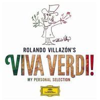 Pozostała muzyka rozrywkowa, VIVA VERDI MY PERSONAL SELECTION - Rolando Villazon (Płyta CD)