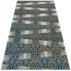 Modny uniwersalny dywan winylowy Modny uniwersalny dywan winylowy Ornamenty i pasy