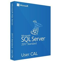 SQL Server 2017 User CAL 32/64 bit