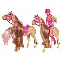 Lalki dla dzieci, Steffi i jej słodki koń - DARMOWA DOSTAWA OD 199 ZŁ!!!