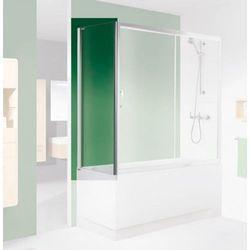 SANPLAST ścianka nawannowa TX5 80 do drzwi przesuwnych, szkło W0 (parawan) SS0-W/TX5b-80 600-271-1680-38-401