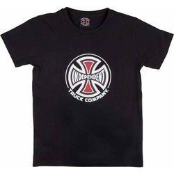 koszulka INDEPENDENT - Truck Co. Black (BLACK) rozmiar: 10-12