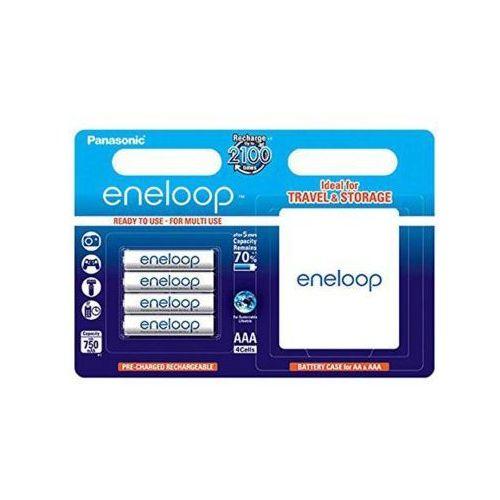 Akumulatorki, Akumulator PANASONIC BK-4MCCE-BOX Eneloop R03/AAA 750 mAh (4 szt.)