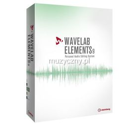 Steinberg Wave Lab Elements 9 program komputerowy, darmowy update do wersji Elements 9.5