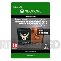 Tom Clancy's The Division 2 - Pakiet 500 Kredytów [kod aktywacyjny] Xbox One