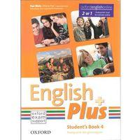 Książki do nauki języka, English Plus 4A Student&#39s Book (podręcznik) with e-book (opr. miękka)