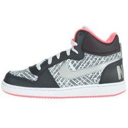 Nike Court Borough Mid Kids Sneakers Czarny Szary 37,5 Przy zakupie powyżej 150 zł darmowa dostawa.