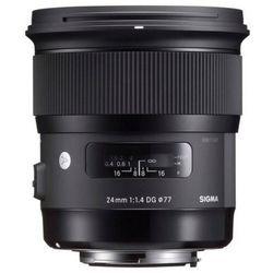 Obiektyw SIGMA A 24/1.4 DG HSM Nikon + Zamów z DOSTAWĄ JUTRO! + DARMOWY TRANSPORT!