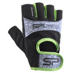 Rękawice fitness SPOKEY Elena II Czarno-szary (rozmiar L)