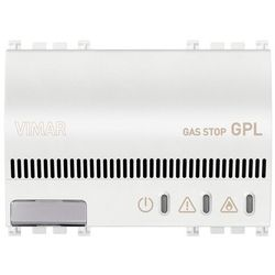 Czujnik gazu LPG 230 V, biały