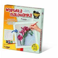 Kolorowanki, Wypukła Malowanka - Kwiaty Frezje