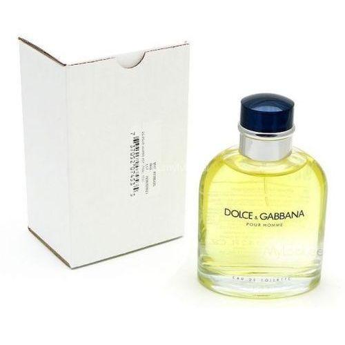 Testery zapachów dla mężczyzn, Dolce & Gabbana Pour Homme Woda Toaletowa 125ml TESTER