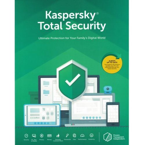 Oprogramowanie antywirusowe, Kaspersky Total Security MD 2019 5PC/2 Lata ANG