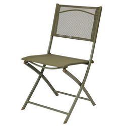 Krzesło GoodHome Saba zielone