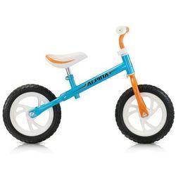 Rowerek biegowy Alpina TORNADO niebiesko - pomarańczowy 12