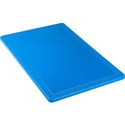 Deska do krojenia HACCP 600x400 mm, niebieska | STALGAST, 341634