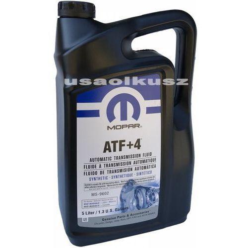 Pozostałe oleje, smary i płyny samochodowe, Olej automatycznej skrzyni biegów MOPAR ATF+4 MS-9602 5,0l Jeep