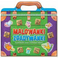 Książki dla dzieci, Malowanki i zgadywanki. Przedszkolak rysuje.. (opr. miękka)