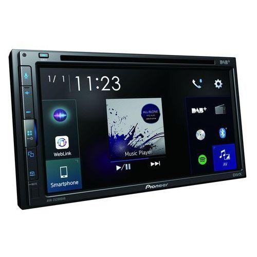 Samochodowe odtwarzacze multimedialne, Radio samochodowe PIONEER AVH-Z5200DAB + Zamów z DOSTAWĄ JUTRO!