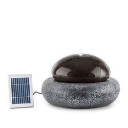 Ocean Planet fontanna 200l/h panel słoneczny akumulator 2W LED polyresin