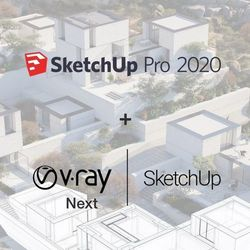 SketchUp Pro 2020 ENG BOX + V-Ray NEXT