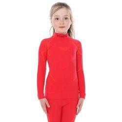 Bluza Termoaktywna Dziewczęca Brubeck Thermo Junior LS13650 Malinowy