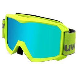 UVEX Flizz FM Gogle Dzieci, lime/mirror green 2020 Gogle narciarskie