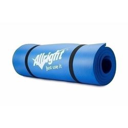 Mata do ćwiczeń Allright niebieski NBR 180x60x1,5cm FE06015