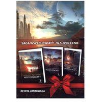 Literatura młodzieżowa, Wszechświaty / Pamięć / Utopia. Pakiet 3 książek - Leonardo Patrignani (opr. broszurowa)