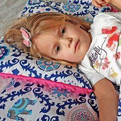 Śpiworek przedszkolaka india róż + worek