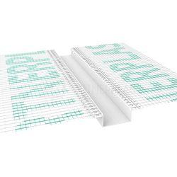 Listwa do boniowania z siatką 20x20 mm H=2cm, L=3mb pakiet 20szt.
