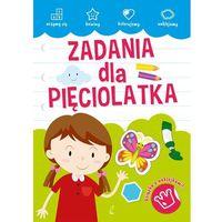 Książki dla dzieci, ZADANIA DLA PIĘCIOLATKA - Opracowanie zbiorowe OD 24,99zł DARMOWA DOSTAWA KIOSK RUCHU (opr. broszurowa)