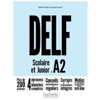Książki do nauki języka, DELF A2 Scolaire & Junior NE podręcznik +DVD-Rom (opr. broszurowa)
