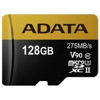 Karty pamięci, Karta MicroSD ADATA Adata microSDXC 128GB Class 10 read/write 275/155MBps - AUSDX128GUII3CL10-CA1 Darmowy odbiór w 20 miastach!