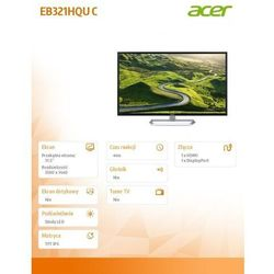 LCD Acer EB321HQUCbidpx