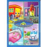 Książki dla dzieci, Moje pierwsze bajeczki Kolorowe pojazdy (opr. twarda)