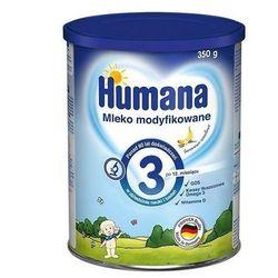 Humana 3 mleko modyfikowane bananowo-waniliowe 350 g