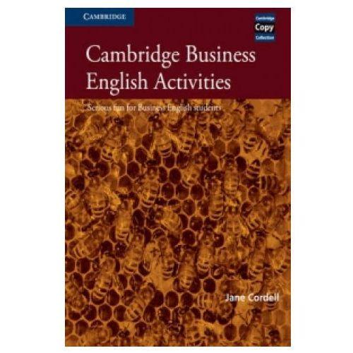 Książki do nauki języka, Cambridge Business English Activities, Book (opr. miękka)