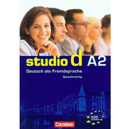 Książki do nauki języka, studio d A2, Lekcje 1-12, Sprachtraining (zeszyt ćwiczeń) (opr. miękka)