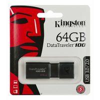 Flashdrive, Pendrive Kingston 64GB DataTraveler 100 G3 - USB 3.0